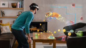 Microsoft Hololens Example